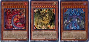 Uria-Hamon-and-Raviel-Sacred-Beasts-Set-3-Ultra-Rare-Mint-YuGiOh-Cards