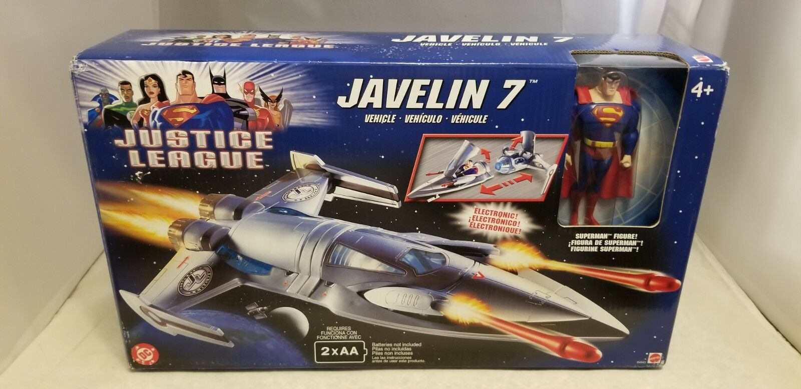 2003 JUSTICE LEAGUE JAVELIN 7 SHIP