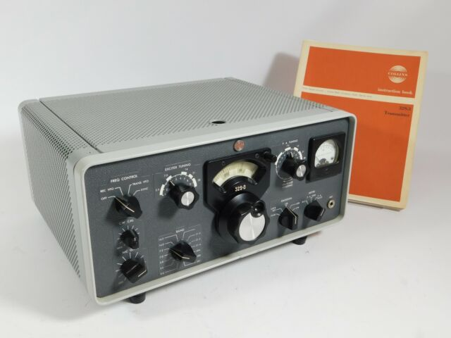 Vintage Collins 32s 3 32s3 Transmitter Round Emblem Ham Radio For Sale Online Ebay