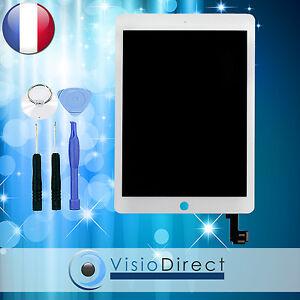 Ecran-complet-pour-iPad-Air-2-blanc-vitre-tactile-ecran-LCD-outils