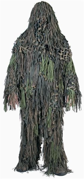 Costume de Camouflage Ghillie Chacal, Sniper, Paintball, Chasse -nouveau