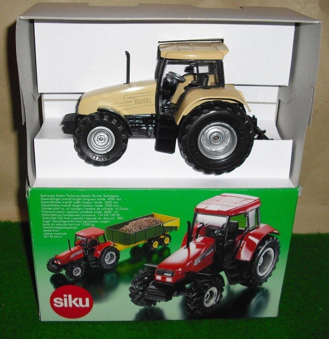SIKU Spécial Modèle Nº 2963 tracteur CASE CS 150-Société Stotz-Neuf U neuf dans sa boîte - 1 32