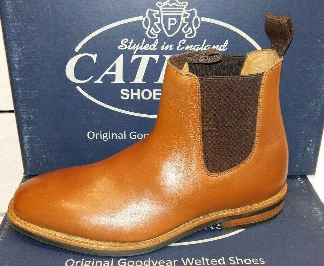 Hombre's Catesby Catesby Catesby Leather Welted Dealer botas 80689b