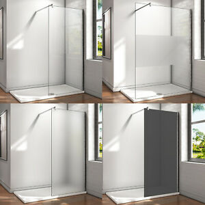 8/10mm Walk in Duschwand ESG NANO Glas Dusche Duschkabine Duschabtrennung H200cm