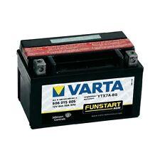 VARTA MOTORRAD-BATTERIE YTX7A-BS YTX 7A-BS NEU !!!, 12Volt 6Ah, wartungsfrei