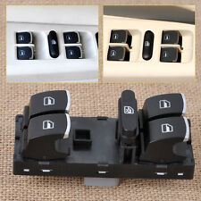 Electric Chrome Power Window Master Switch fit VW Passat B6 Golf Jetta 5ND959857