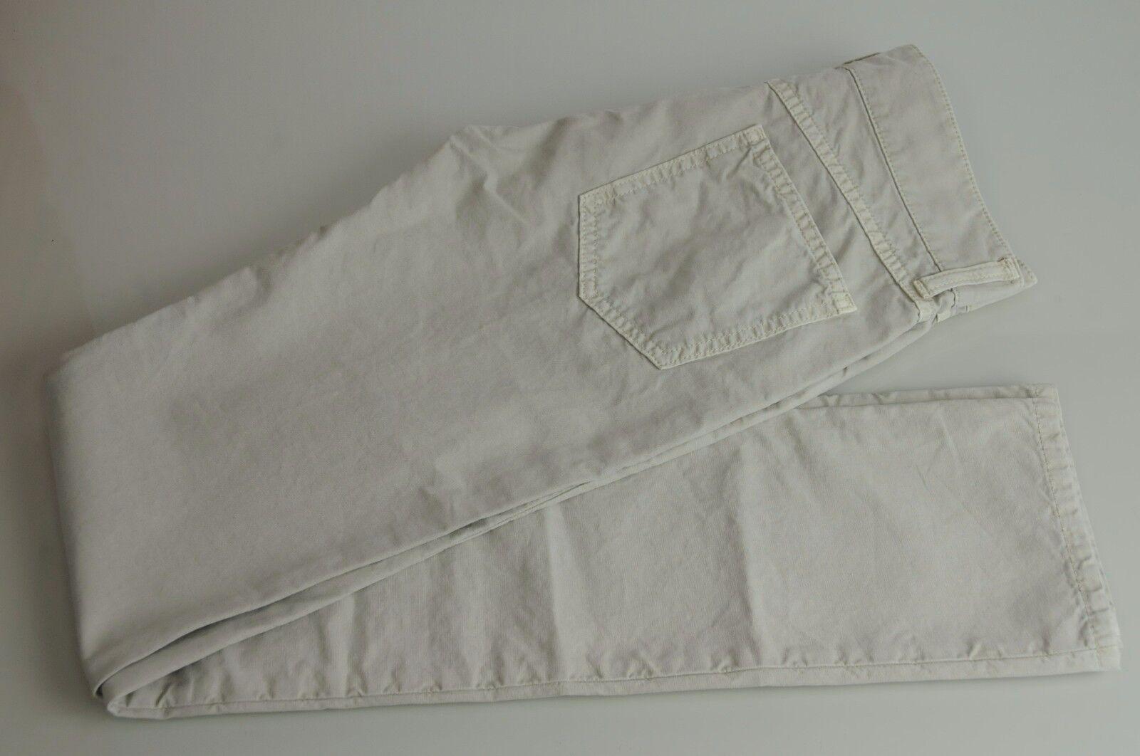 650 New BOTTEGA VENETA Beige Stone Trouser Stretch Jeans 38 40 42