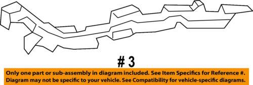 MERCEDES OEM Front Bumper-Bumper Cover Upper Bracket Left 9068890014