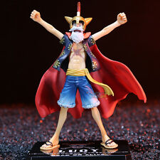 One Piece Anime Action Figure Toy Monkey Gladiator D Luffy Lucy Figurine Statues