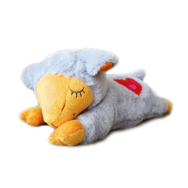 Paws Puppy Plush Toy Eases crying,loneliness and separation anxiety in pets
