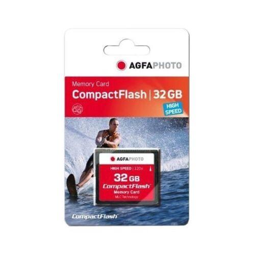 Memoria Compact Flash AgfaPhoto 32GB 300xBargainFotos