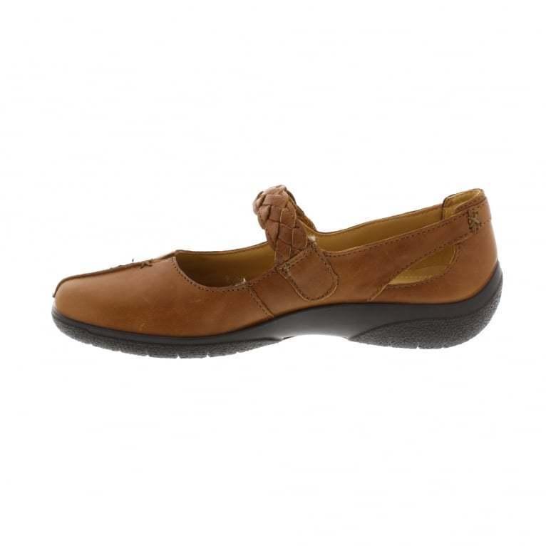 Hotter Shake Schuhes- Tan UK 3 EU 36 STD Fit JS088 XX 08