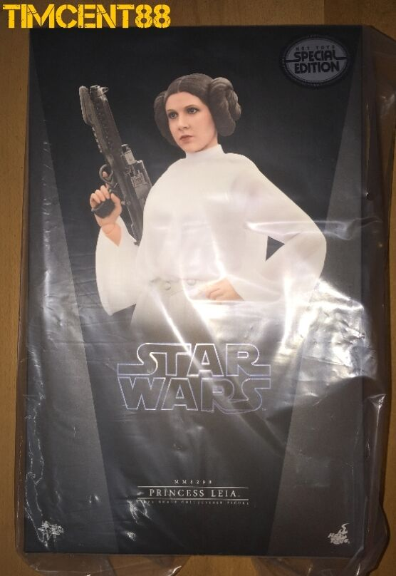 Hot Toys MMS 298 Star Wars Iv A New Hope 1 6 Princesa Leia Carrie Fisher especial