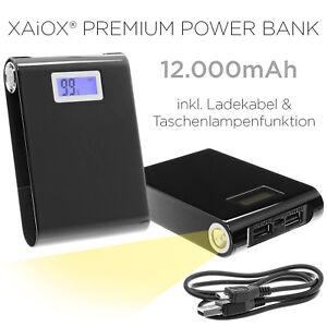 Mobil-Large-Power-Bank-Li-Polymer-12000mAh-Ladegeraet-Premium-USB-Zusatz-Akku