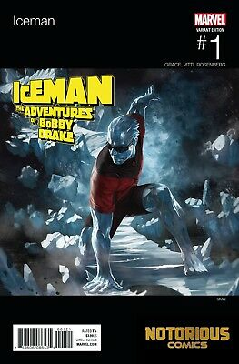 Iceman #1 Hip Hop Variant Marvel Comics 1st Print