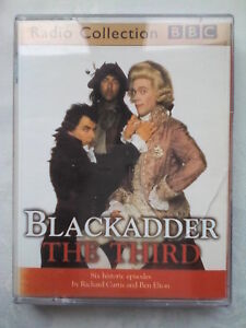 BLACKADDER-THE-THIRD-R-CURTIS-BEN-ELTON-ROWAN-ATKINSON-2-CASSETTE-2-H-50-M-6-EPS