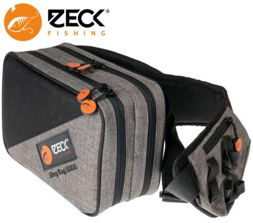 Kunstködertasche Zeck Sling Bag 5000 2 x Tackle Box WP M Spinntasche