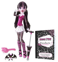Monster High Draculaura ORIGINAL FAVORITES Sammlerpuppe SELTEN BBC69