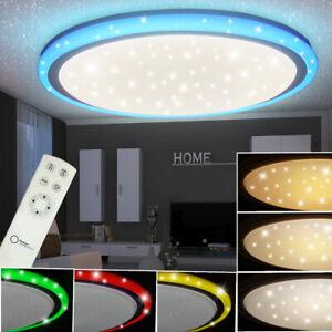 Details zu RGB LED 32W Decken Lampe Kinderzimmer CCT Sternen Effekt  Strahler FERNBEDIENUNG