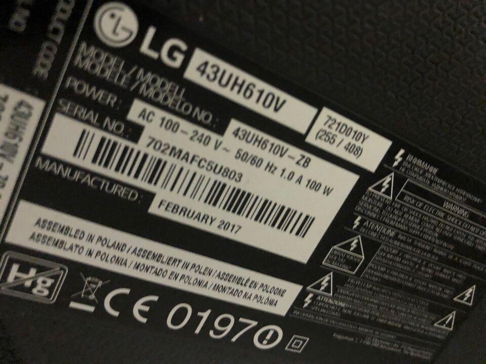 """LED, LG, 43"""""""