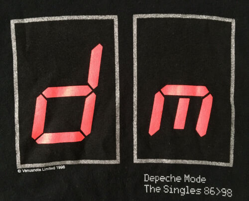 VTG 1998 Depeche Mode The Singles 86-98 Tour Ringe