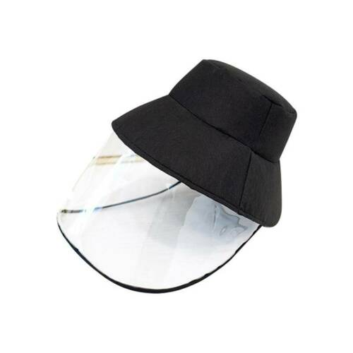 Protective Face-covering Fisherman Hat 1Pc Outdoor Face Shield Anti-droplets O3