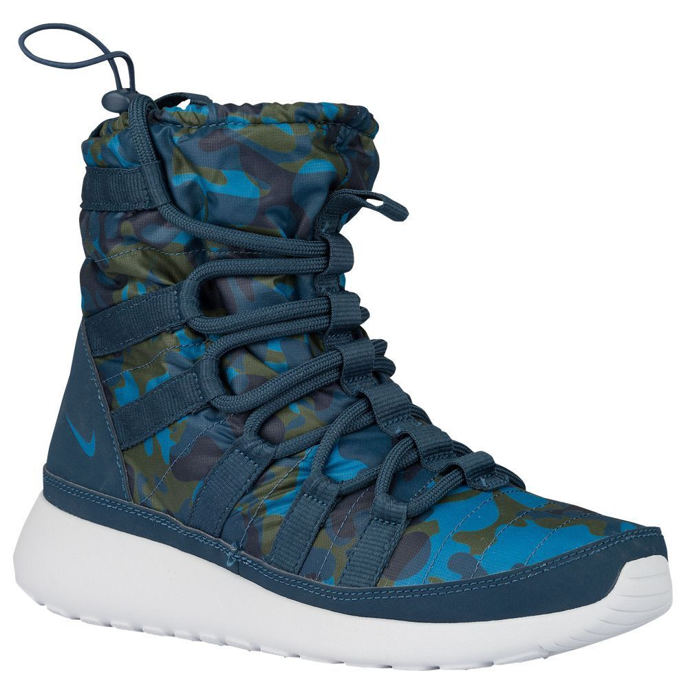 Women's Nike Roshe One Hi Print Sneakerboots, Comfortable