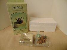 Hallmark Marjolein Bastin Bunny in Flower Garden- Natures Sketchbook Trinket Box