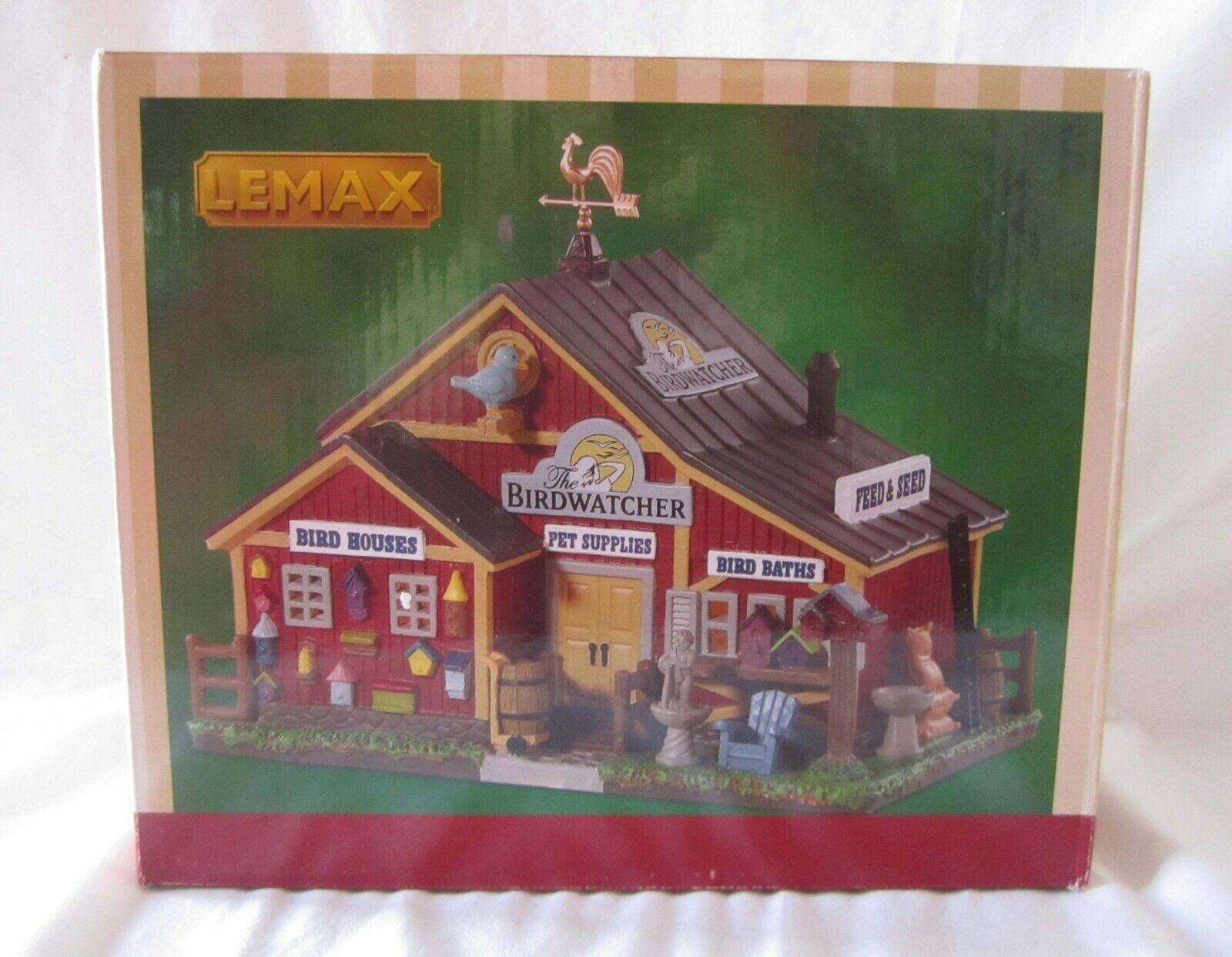 Lemax Lemax Lemax Christmas Village THE BIRDWATCHER   85367  @2018 New dd081e