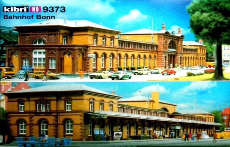 OFFERTA speciale-groesser stazione: 1 1 1 X Kibri 9373 + 2 x Faller 120199-NUOVO d5c538