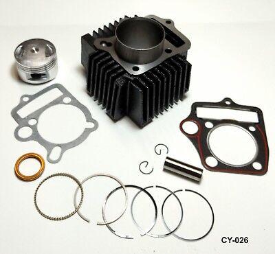 Cylinder /& Piston Rebuild Kit 125cc 54mm 14mm ATV Quad Go-Kart Motorcycle