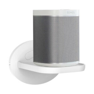 Sonos-Play-1-Wall-Mount-Shelf-Holder-Stand-for-Sonos-One-White
