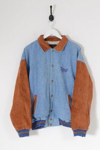 Vintage Men's Bonnie Raitt '94 Tour Denim Varsity