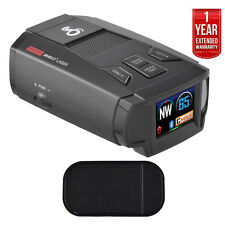 Cobra Max Performance Radar/Laser/Camera Detector + Car Mat + Extended Warranty