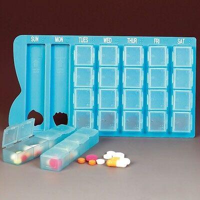 Medikamenten Wochendispenser gross, leer