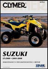 suzuki ltz400 kawasaki kfx400 ltz kfx 400 repair service manual book rh ebay com 2004 kfx 400 service manual 2004 kfx 400 service manual free