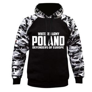 Sweatshirt Hoodie Bluza Patriotic Eagle Poland Wielka Polska Walczaca Polen