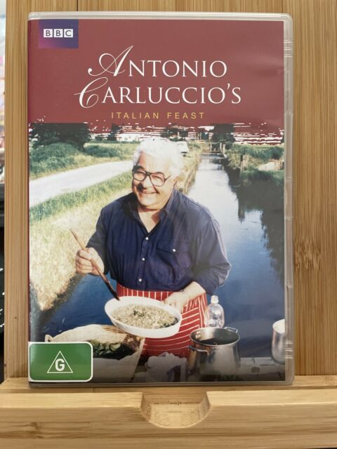 Antonio Carluccio's Italian Feast region 4 DVD (2 discs) food / cooking