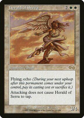 Herald of Serra Urza/'s Saga NM White Rare MAGIC THE GATHERING CARD ABUGames