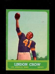 1963-TOPPS-45-LINDON-CROW-EXMT-LA-RAMS-CENTERED-XR23663