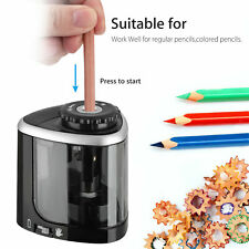 Battery Operated Automatic Electric Pencil Sharpener For Kids Home School Office
