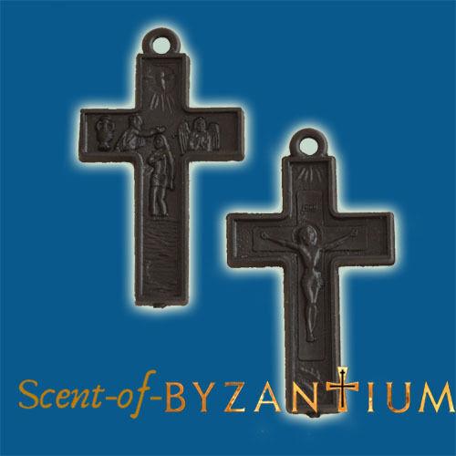 Orthodox Amulet - Plastic Cross Package of 10 Kruzifix Crucifix Jesus Christus
