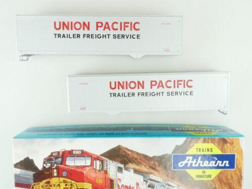 Athearn h0 05173 40 ft Caravane SET 2x Union Pacific Kit Kit Box PTA 109497