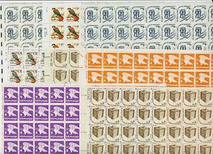 U.S. Definitive Full Sheets - FACE value $ 43.00