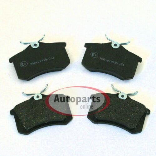 Bremsbeläge Bremsklötze für hinten die Hinterachse* Fiat Coupe