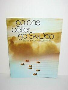 1971 Ski Doo Snowmobile Catalog Manual With Price List Brochure Flyer