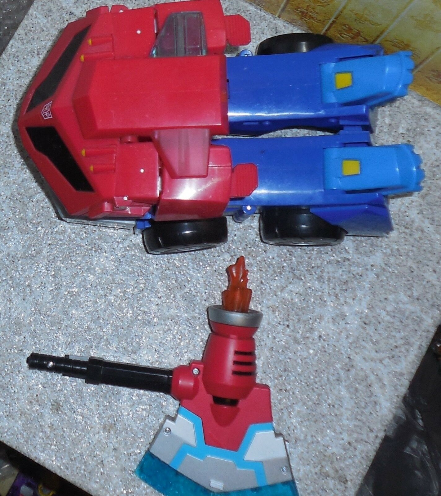 Transformers Transformers Transformers Animated ROLL OUT COMMAND OPTIMUS PRIME Complete 919431