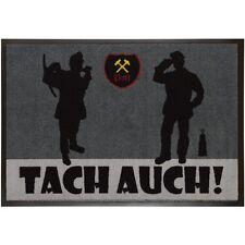 Fußmatte Ruhrpott Ruhrgebiet Schmutzfangmatte Spruch Tach auch 50x75cm grau