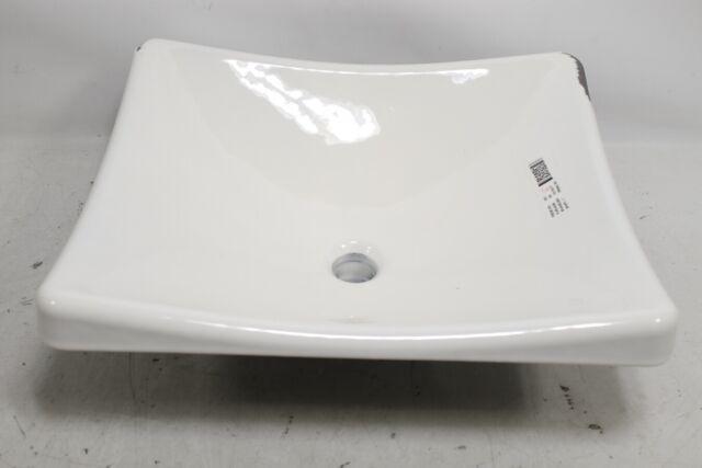 Kohler K 2833 0 Demilav Wading Pool Bathroom Sink White Preowned