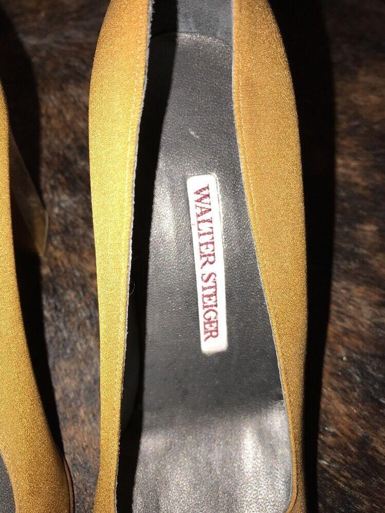 Handmade  Walter Steiger Paris Pumps 7   7 MSR295 NWT 72fa16